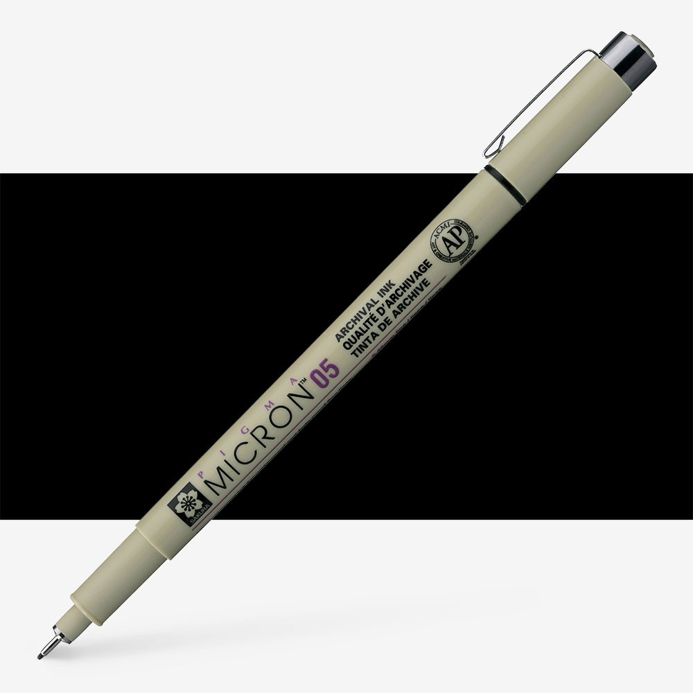 Sakura : Pigma : Micron Pen 05 : Black : 0.45 mm