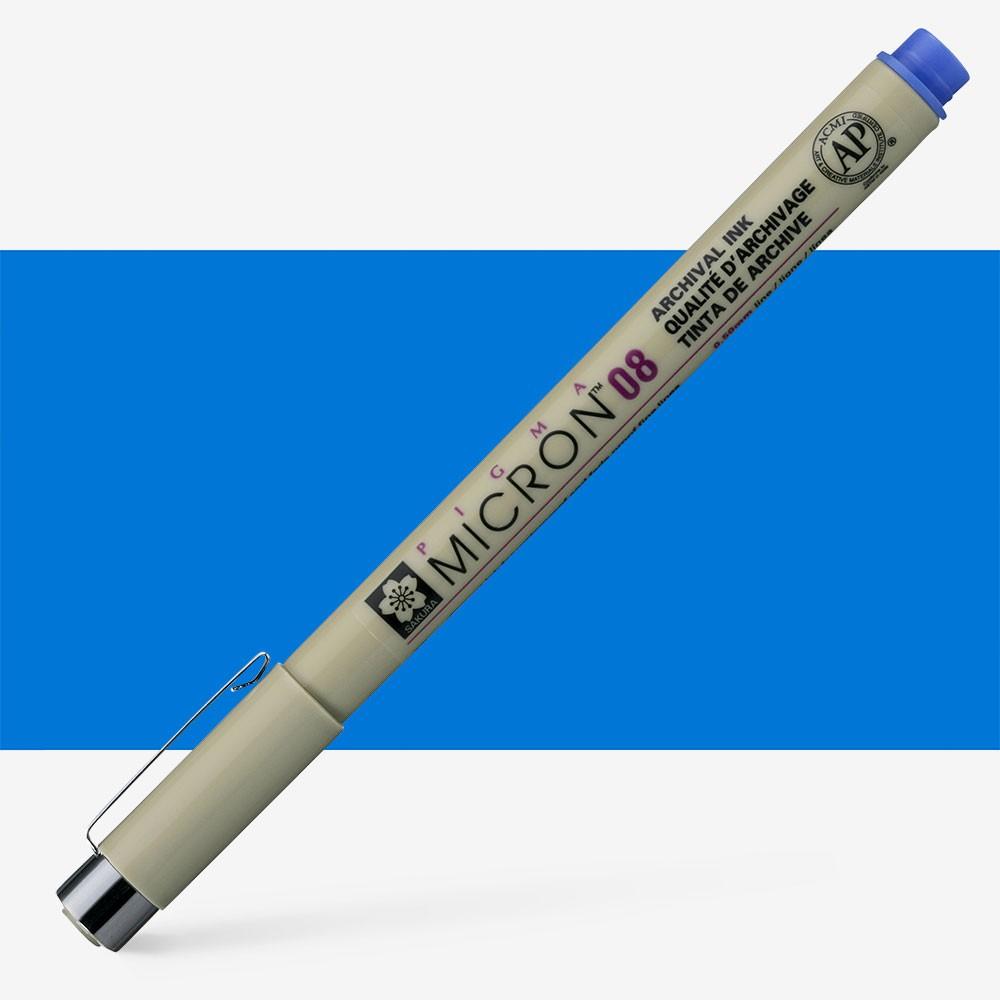 Sakura : Pigma : Micron Pen 08 : Blue : 0.5 mm