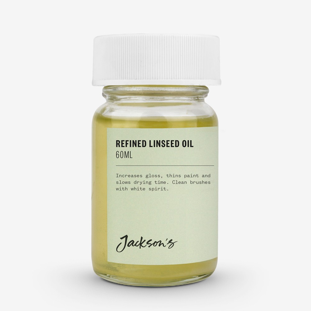 Jackson's : Refined Linseed Oil : 60ml