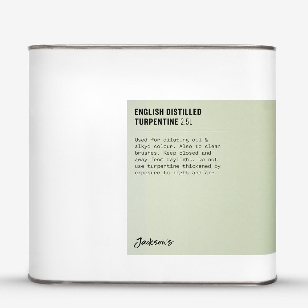 Jackson's : English Distilled Turpentine 2.5 Litre