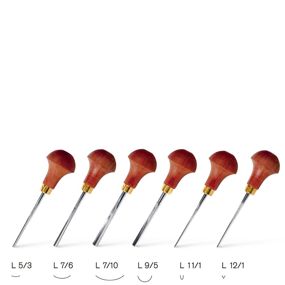 Pfeil : Linoleum and Block Cutter Set of 6 Tools : Set B