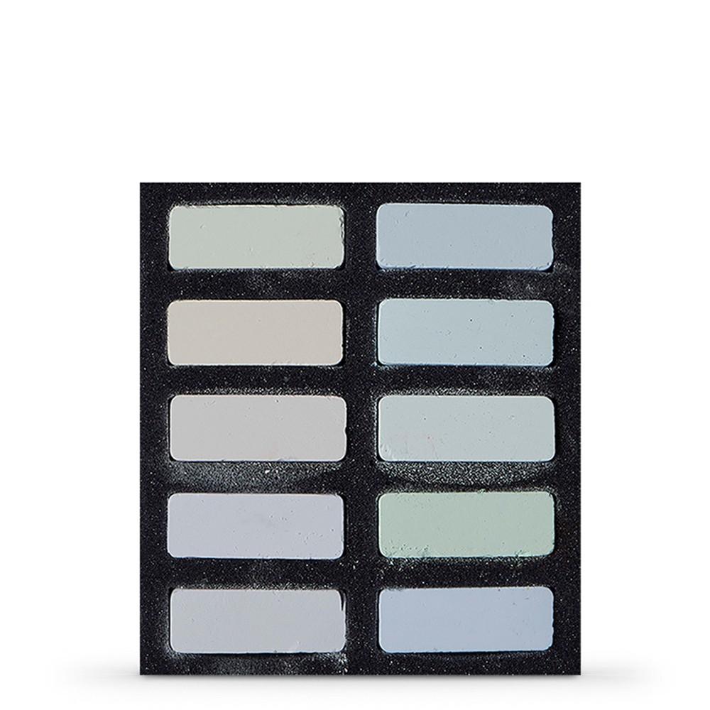 Art Spectrum : Extra Soft Square Pastel : Set Of 10 : Highlights