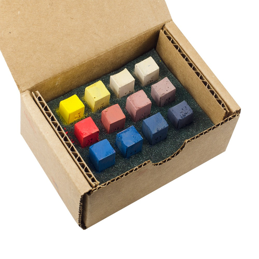 Blue Earth : Soft Pastel : Primary Sampler : Set of 12 : 1 Per Order