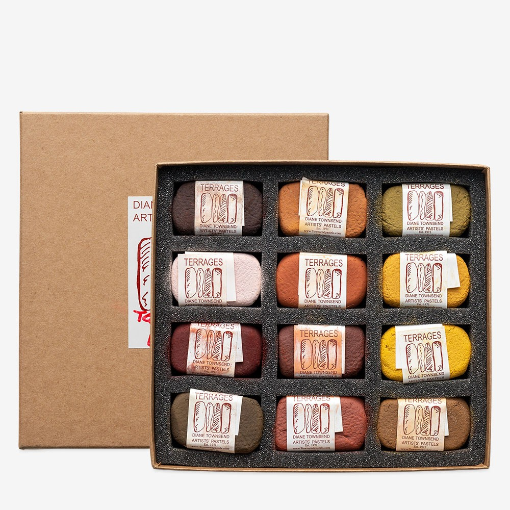 Diane Townsend : Artists' Pastels : Terrages : Earth Colours Set of 12
