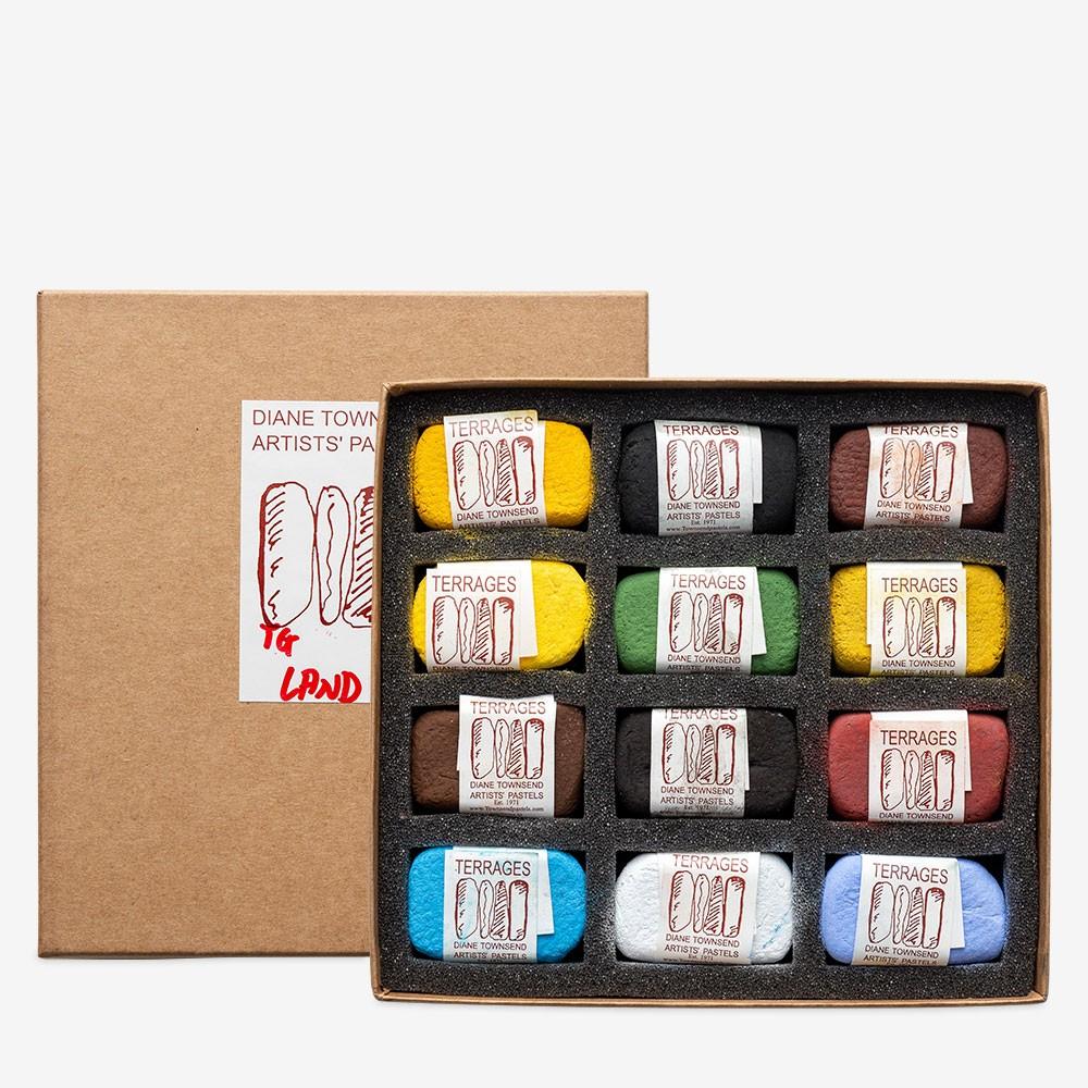 Diane Townsend : Artists' Pastels : Terrages : Landscape A Set of 12