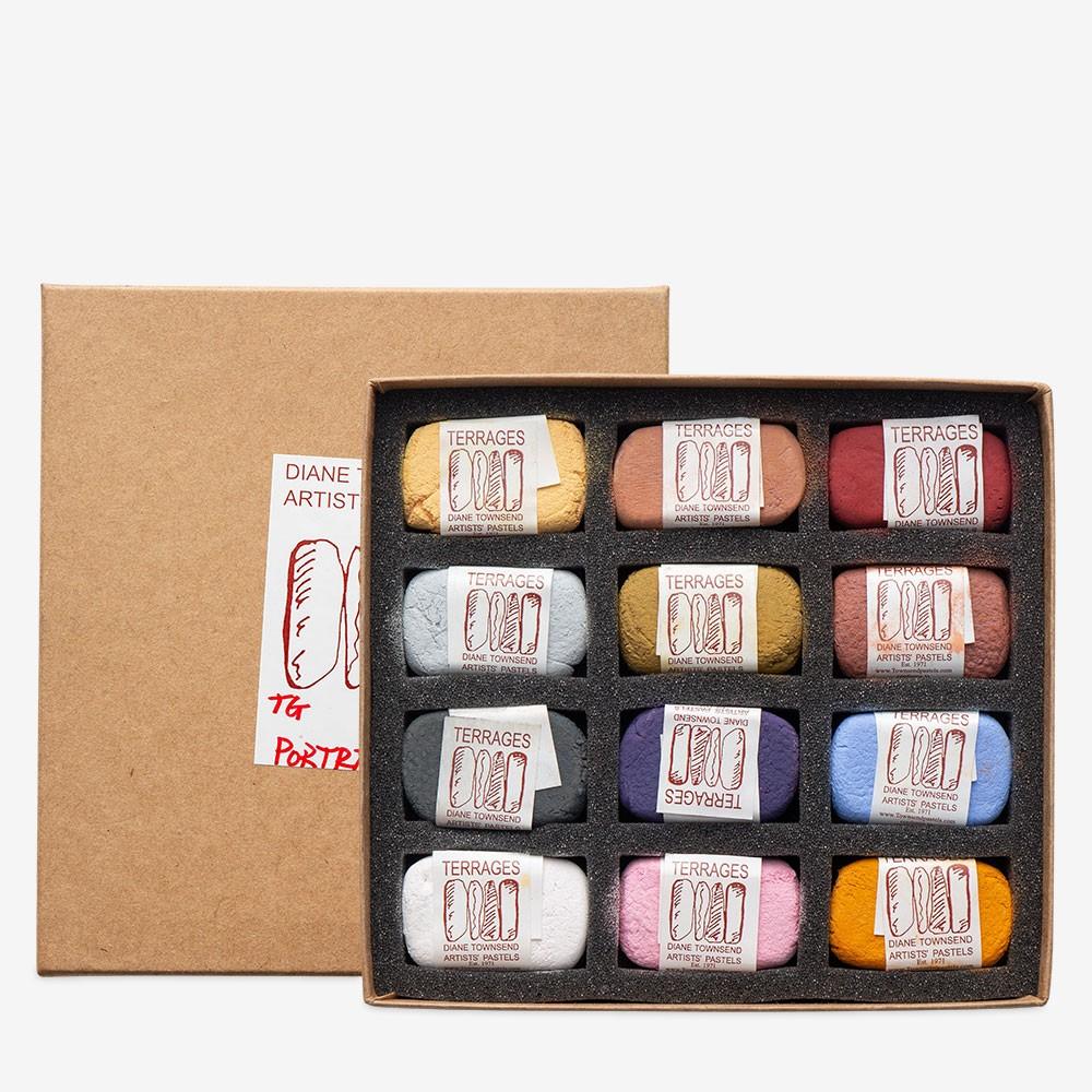 Diane Townsend : Artists' Pastels : Terrages : Portrait B Set of 12