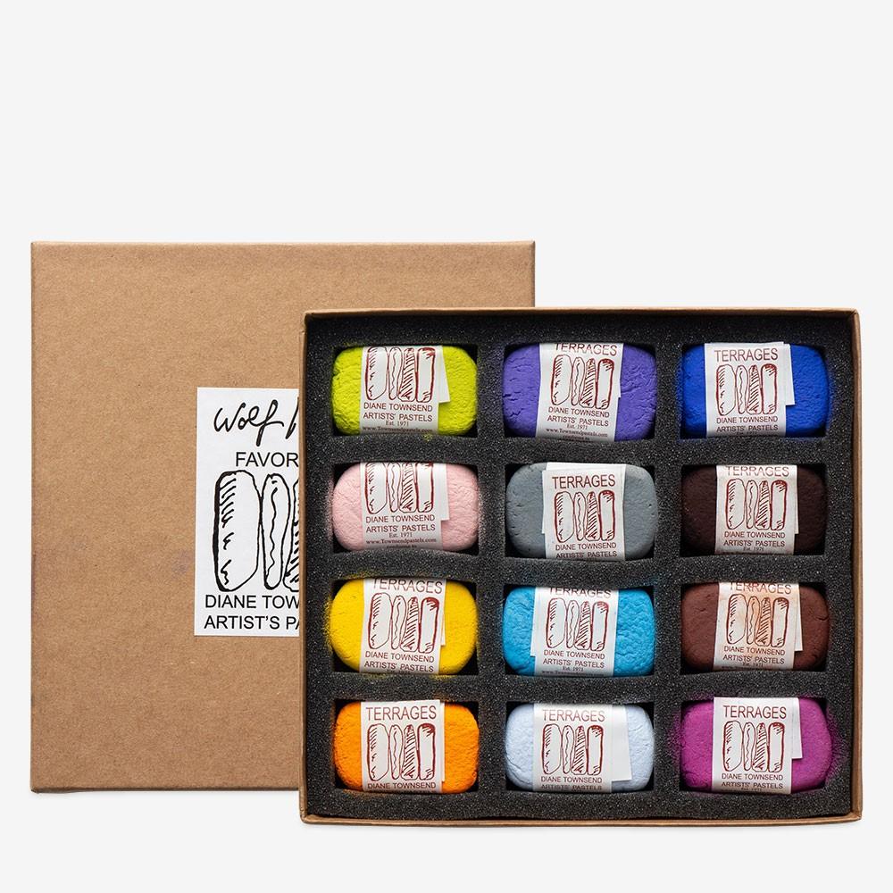 Diane Townsend : Artists' Pastels : Terrages : Wolf Kahn Favorites Set of 12