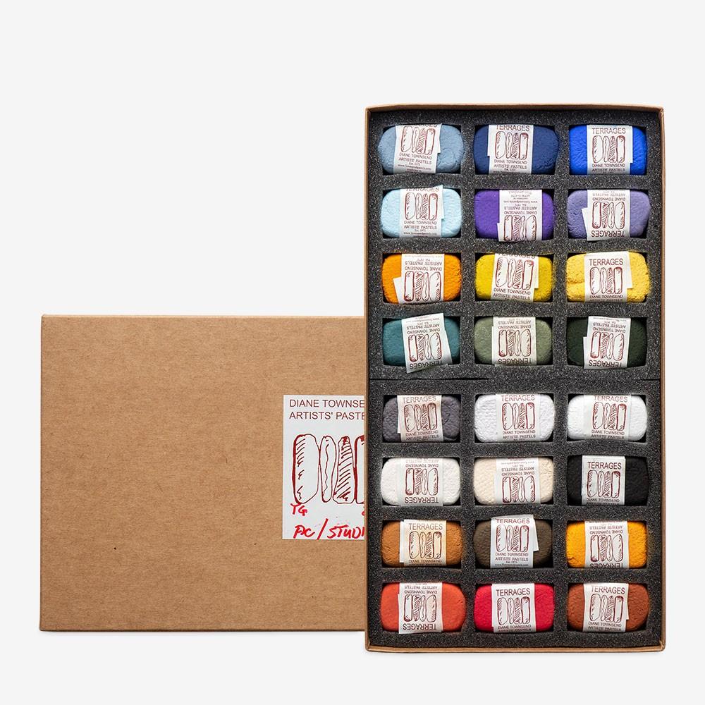 Diane Townsend : Artists' Pastels : Terrages : Studio Set of 24