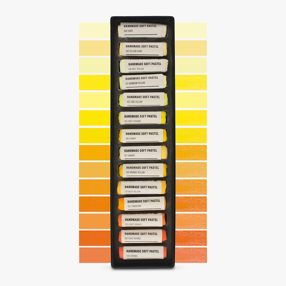 Jackson's : Handmade Soft Pastel : 14 Colours : Set 1