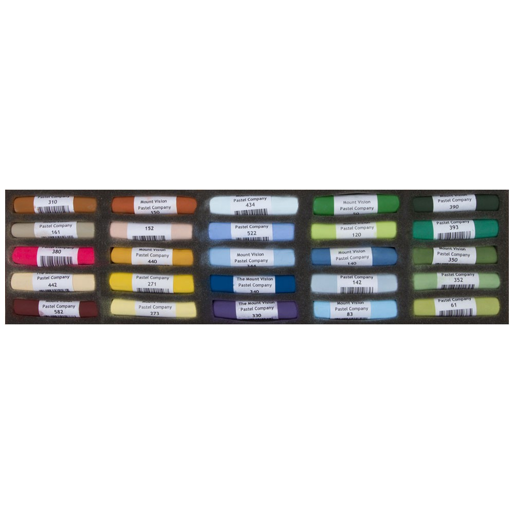 Mount Vision Soft Pastel : Set of 25 : Landscape
