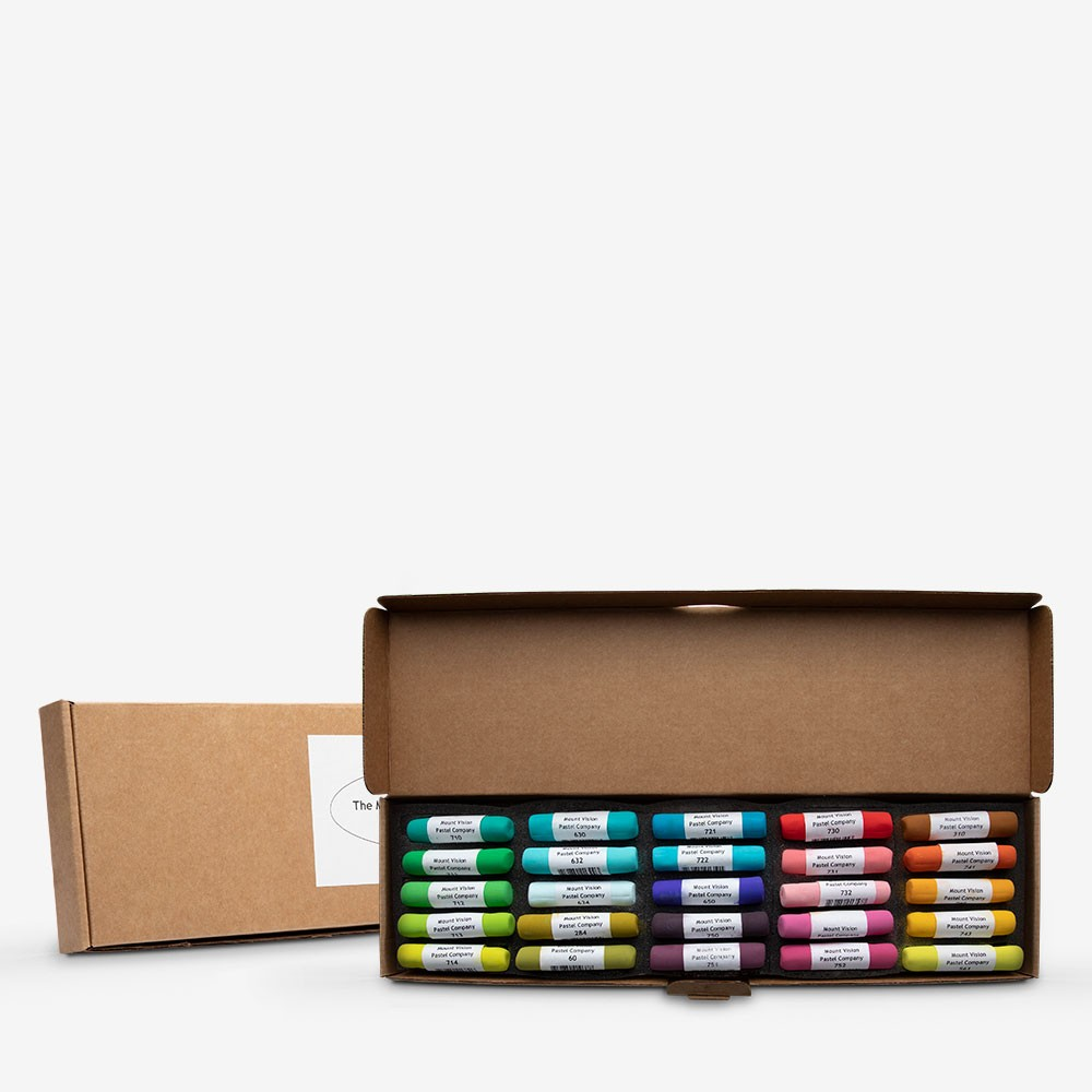 Mount Vision Soft Pastel : Set of 25 : Tropical