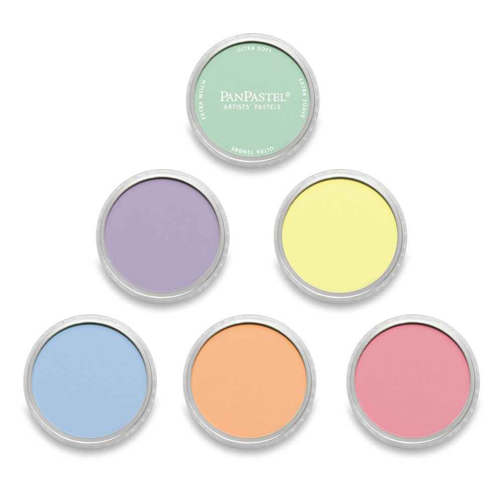 PanPastel : Pearlescent Colours : Set of 6