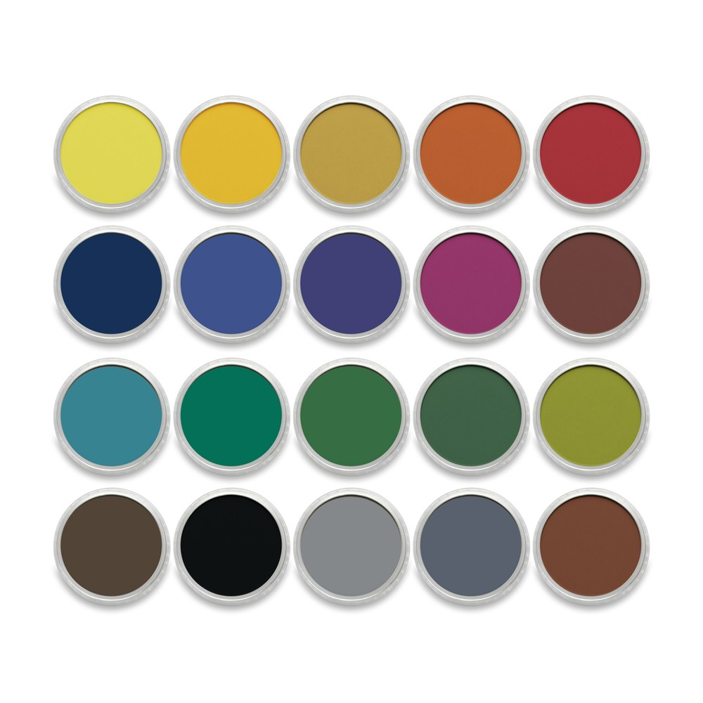 PanPastel : Set : Shades : 20 Colours