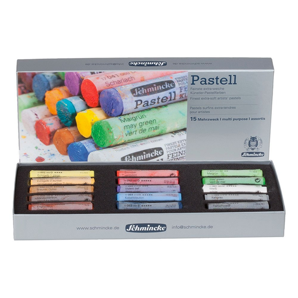 Schmincke : Soft Pastel : Set of 15