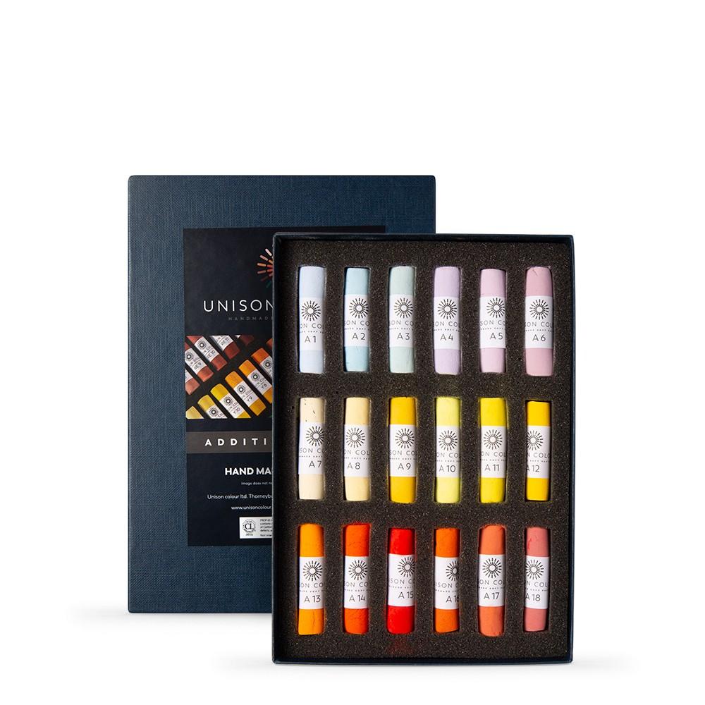 Unison : Soft Pastel : Set of 18 Additional 1-18