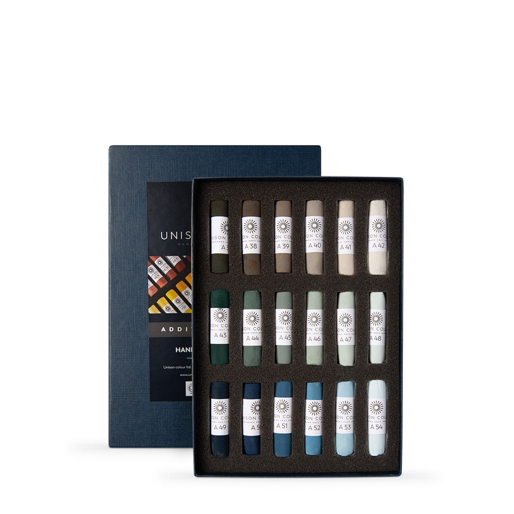 Unison Colour : Soft Pastel : Set of 18 Additional 37-54