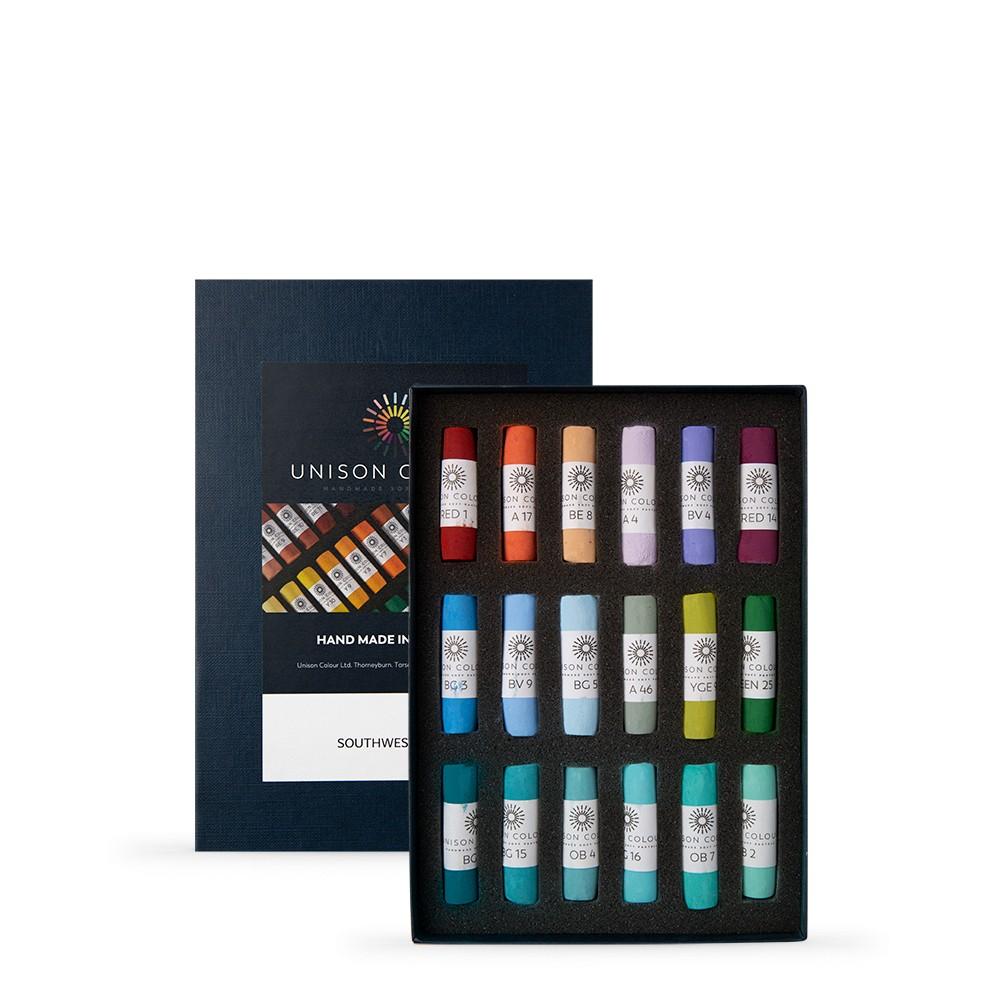 Unison : Soft Pastel : Set of 18 Southwestern colours