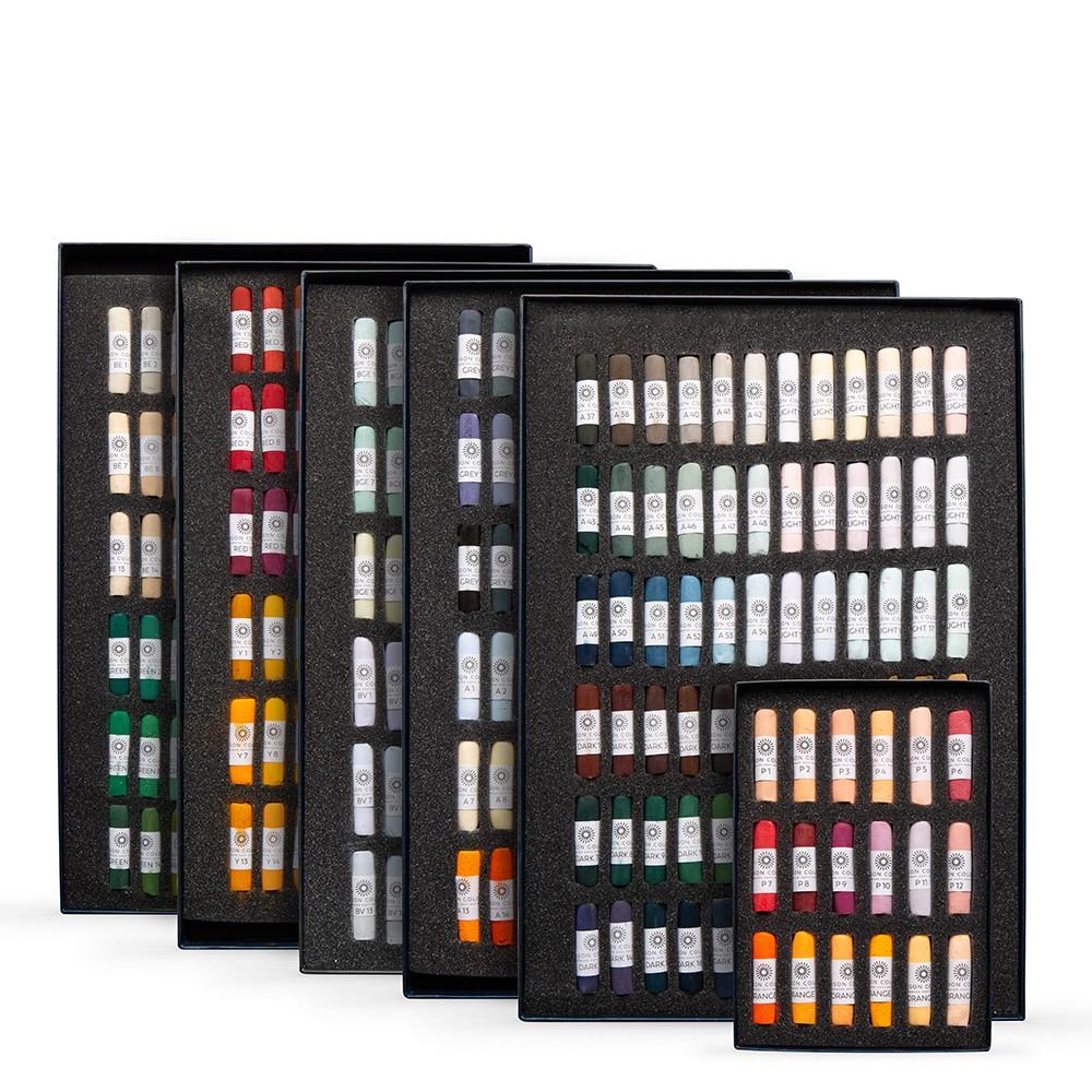 Unison Colour : Soft Pastel : Complete range of 380 Colours