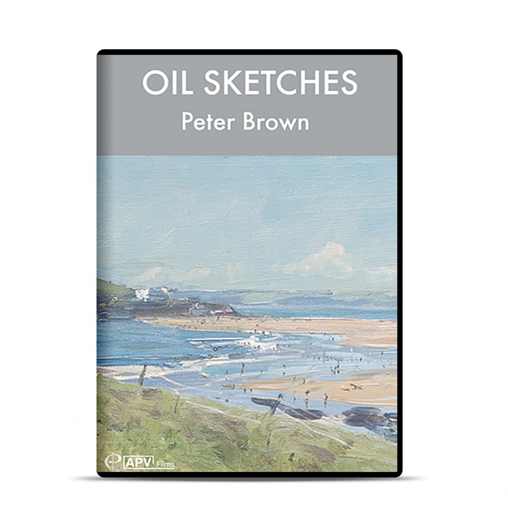 DVD : Oil Sketches : Peter Brown