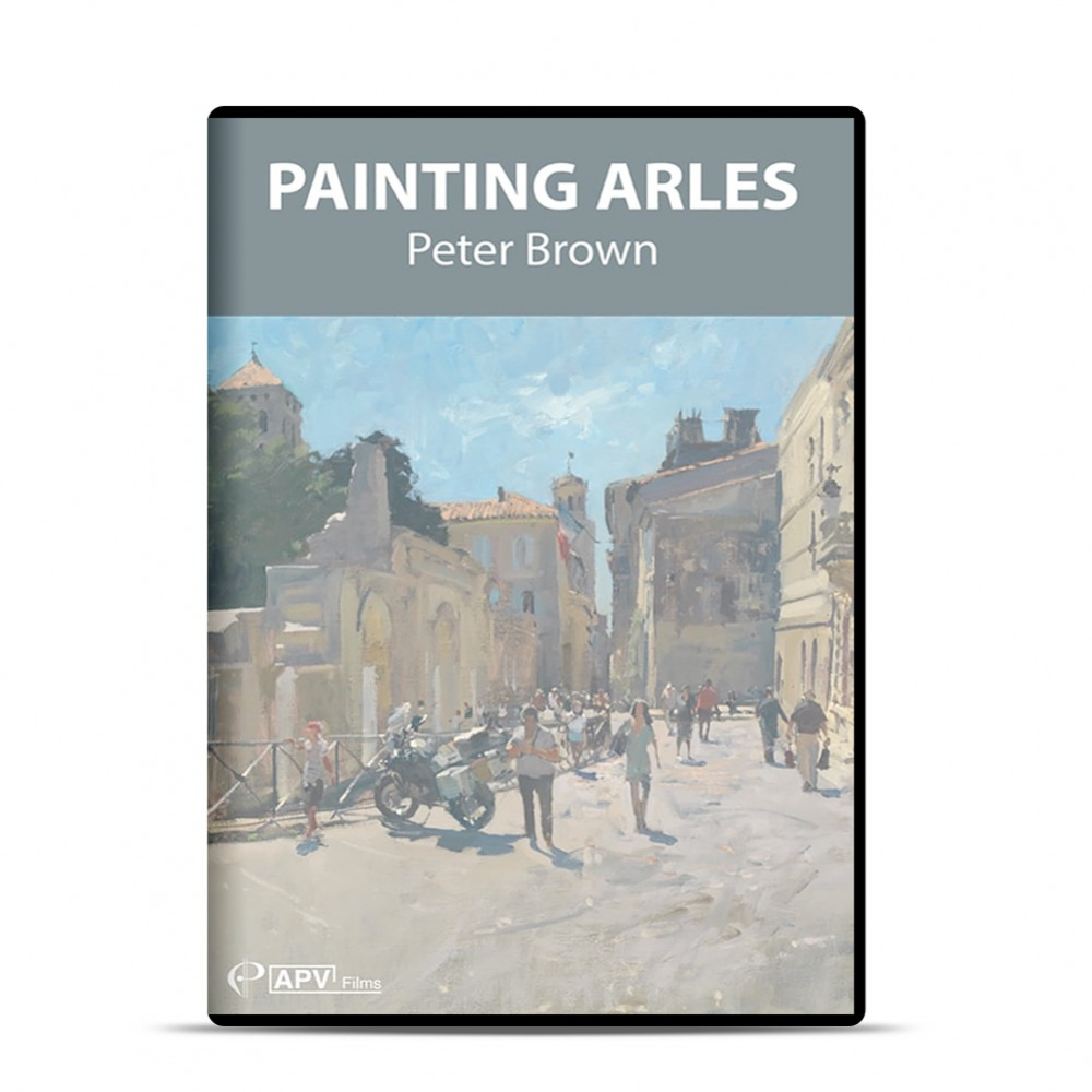APV : DVD : Painting Arles : Peter Brown