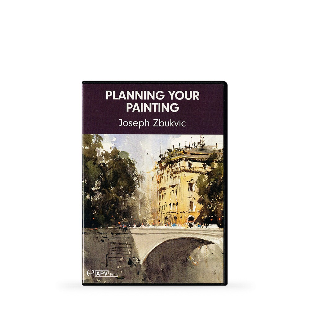 APV : DVD : Planning Your Painting : Joseph Zbukvic DVD