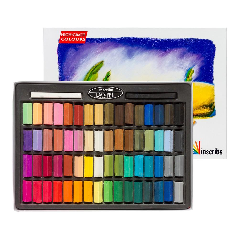 Inscribe : Soft Pastel Set : 64 Half Sticks