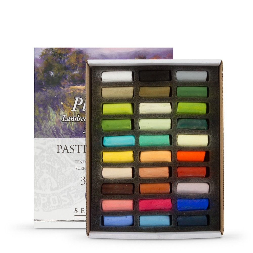 Sennelier : Soft Pastel : Half Stick Set of 30 : Plein Air Landscape