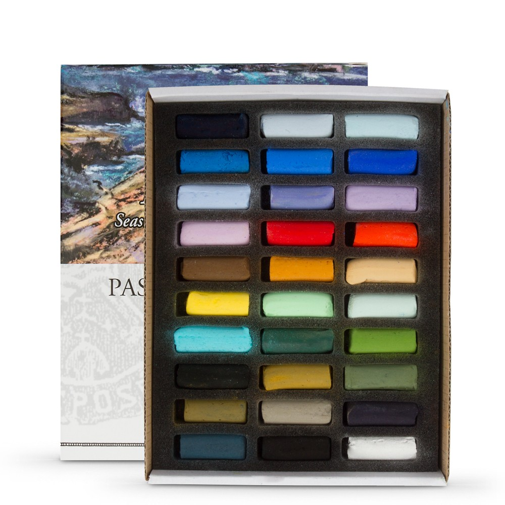 Sennelier : Soft Pastel : Half Stick Set of 30 : Plein Air Seaside