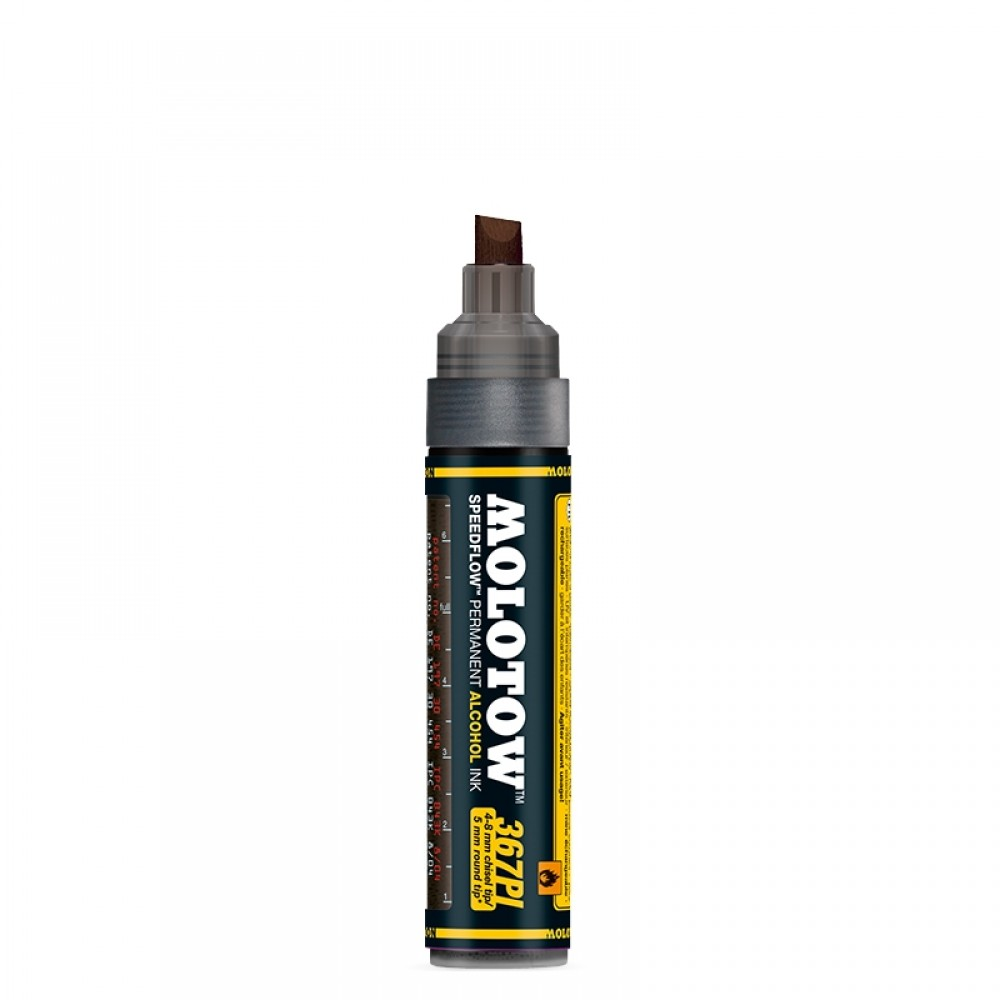 Molotow : Masterpiece 367PI Speedflow Marker : 4-8mm : Copper Black : Ship By Road Only