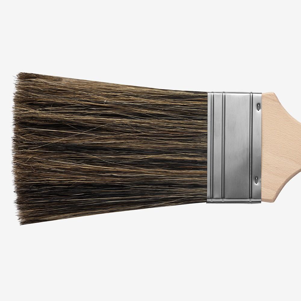 Handover : Flogging Brush with Metal Ferrule 5.5 in Bristle : 3 in