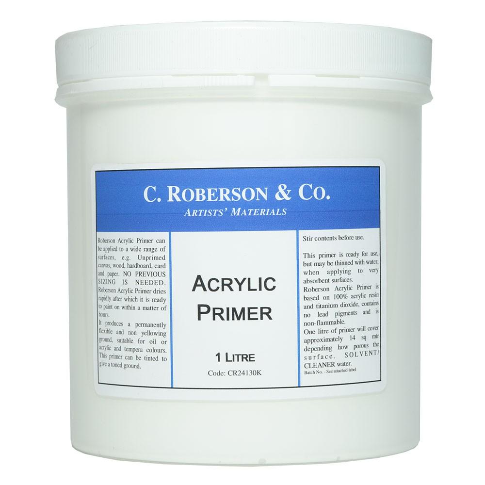 Roberson : Acrylic Primer : 1 Litre