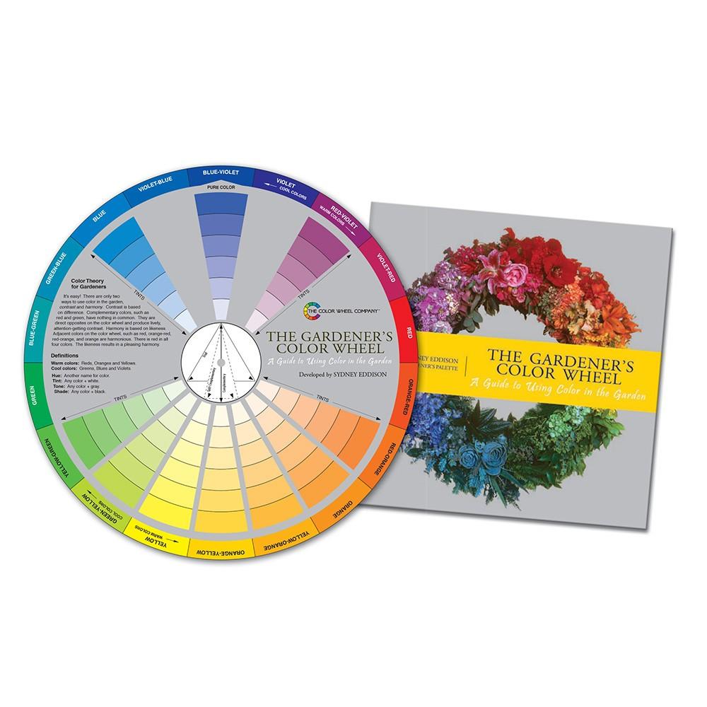 Color Wheel Company : Gardener's Color Wheel with Booklet