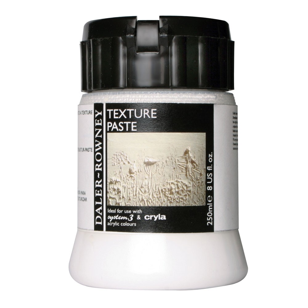 Daler Rowney : Acrylic Medium : Texture Paste : 250ml