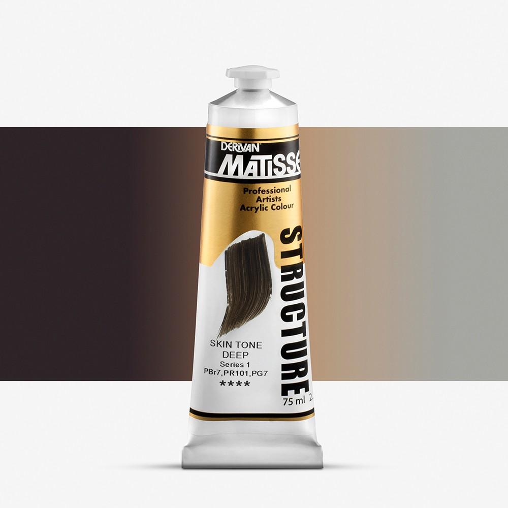 Derivan : Matisse Structure : Acrylic Paint : 75ml : Skin Tone Deep