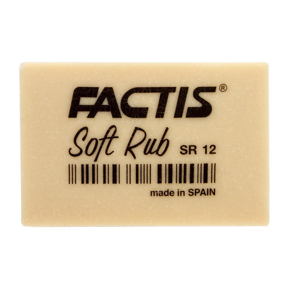 Factis : Soft Rub (Gum) Eraser : Off White