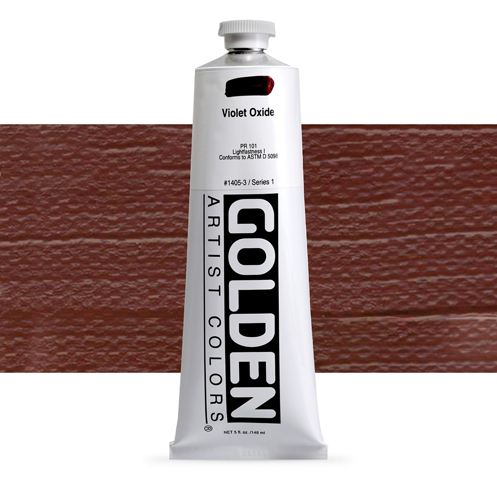 Golden : Heavy Body Acrylic Paint : 150ml : Violet Oxide