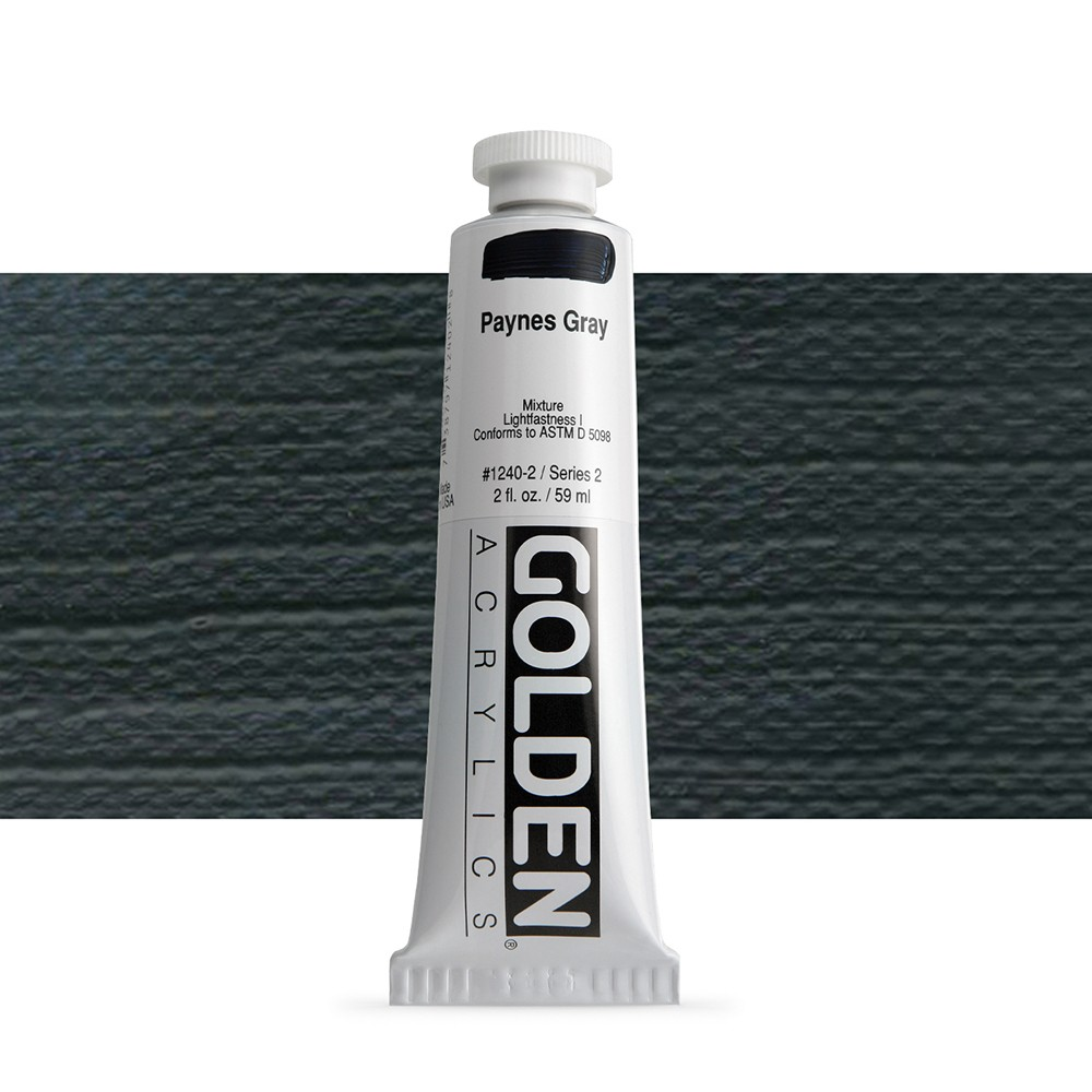 Golden : Heavy Body Acrylic Paint : 60ml : Paynes Grey