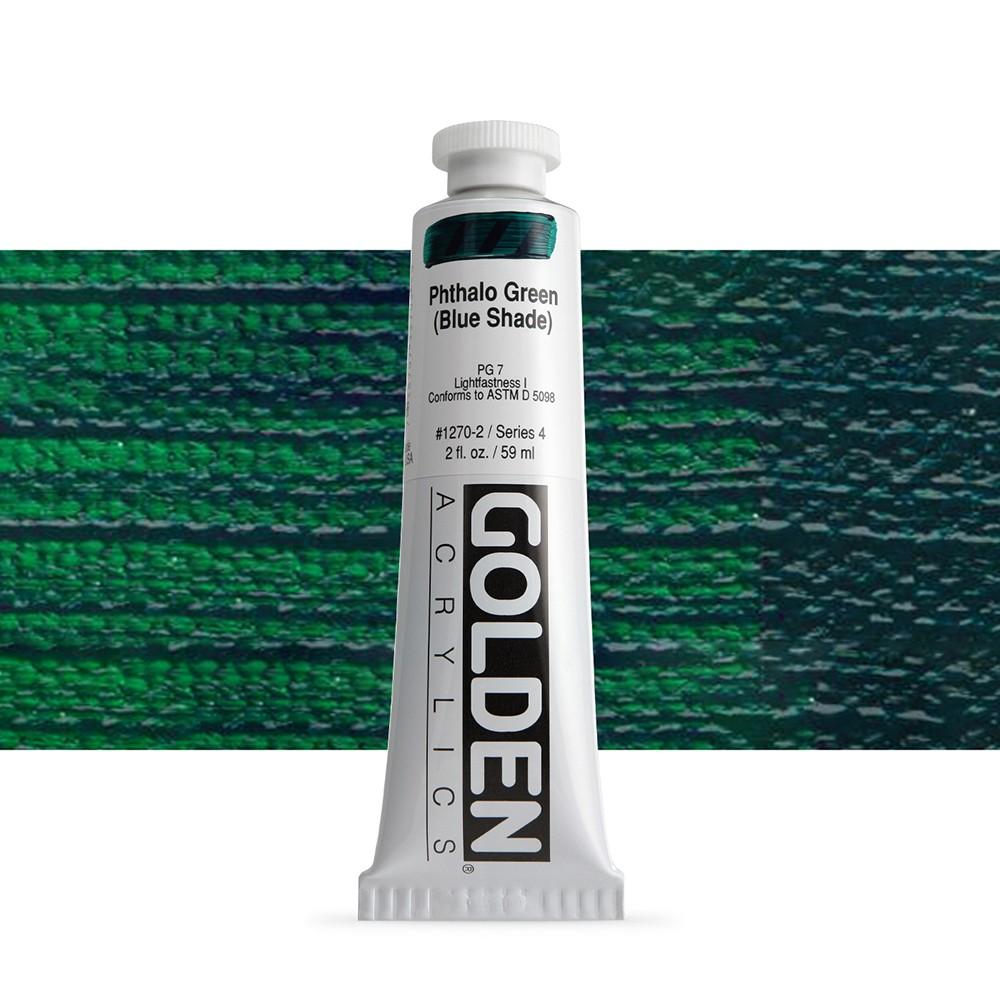 Golden : Heavy Body Acrylic Paint : 60ml : Phthalo Green Blue Shade