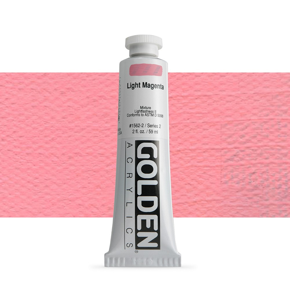 Golden : Heavy Body Acrylic Paint : 60ml : Light Magenta