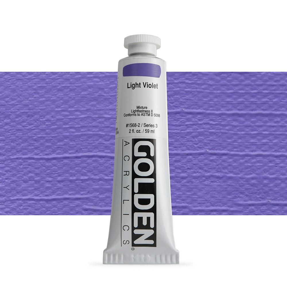 Golden : Heavy Body Acrylic Paint : 60ml : Light Violet