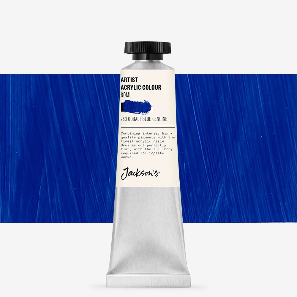 Jackson's : Artist Acrylic Paint : 60ml : Cobalt Blue Genuine