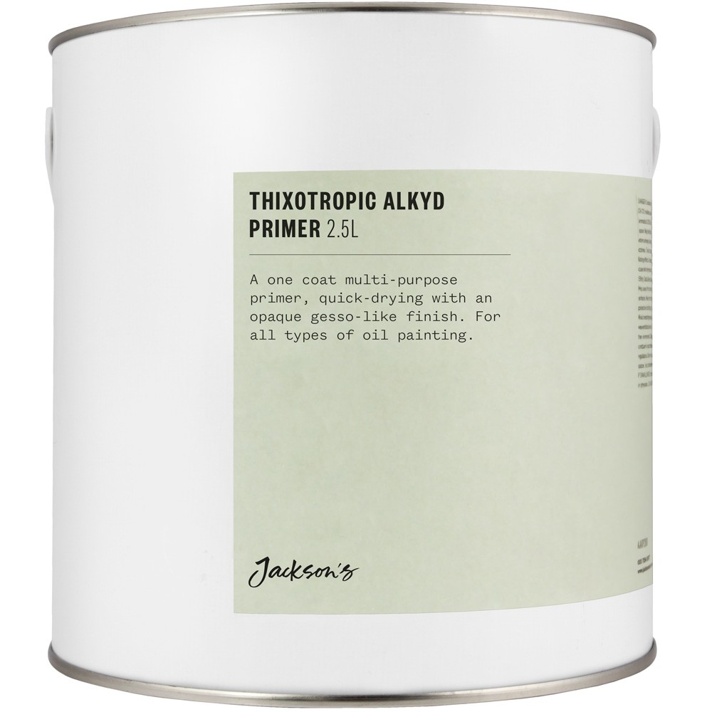 Jackson's : Thixotropic Alkyd Oil Primer : 2.5 Litres : By Road Parcel Only