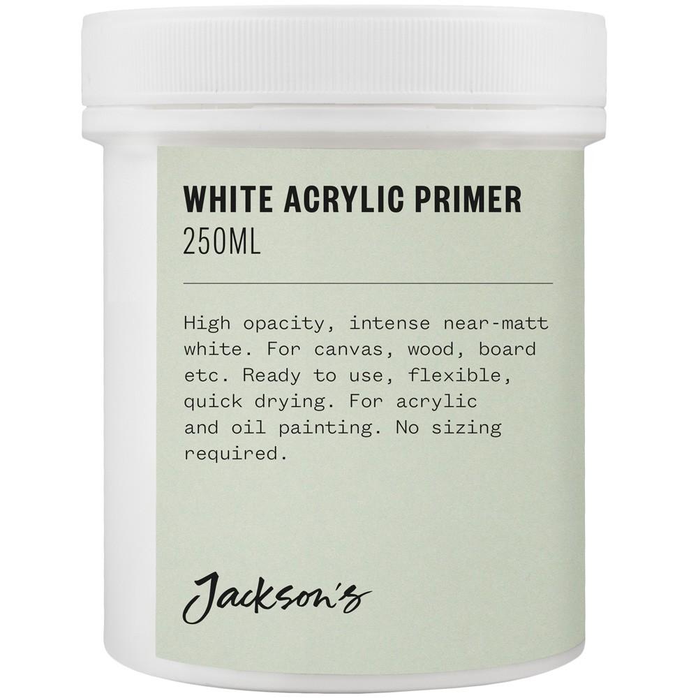 Jackson's : Acrylic Primer : 250ml