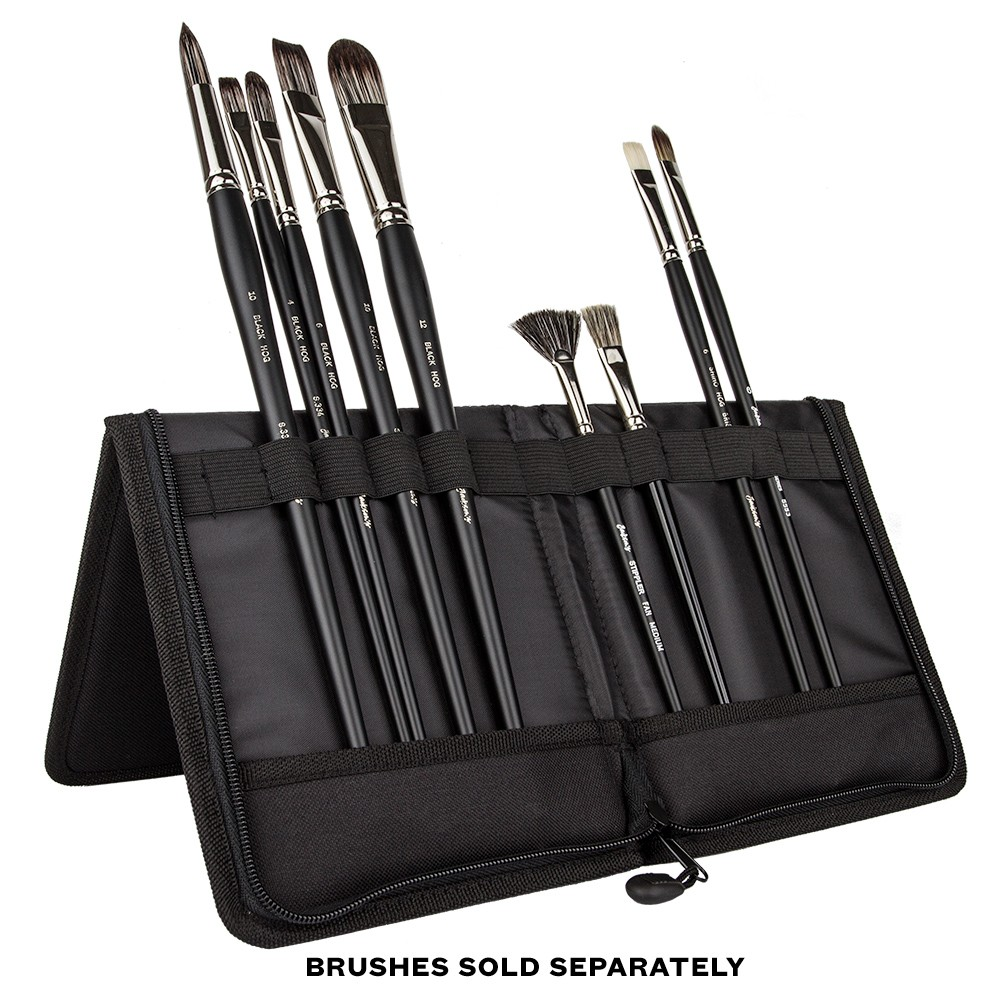 Jackson's : Brush Easel Case : LARGE Zip Fastening