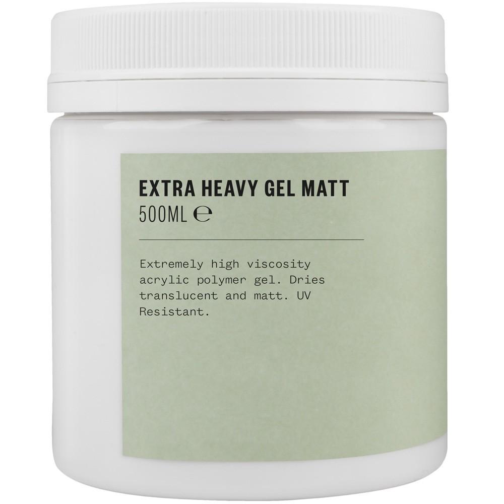 Jacksons : Acrylic Extra Heavy Gel Matt Matt Medium : 500ml