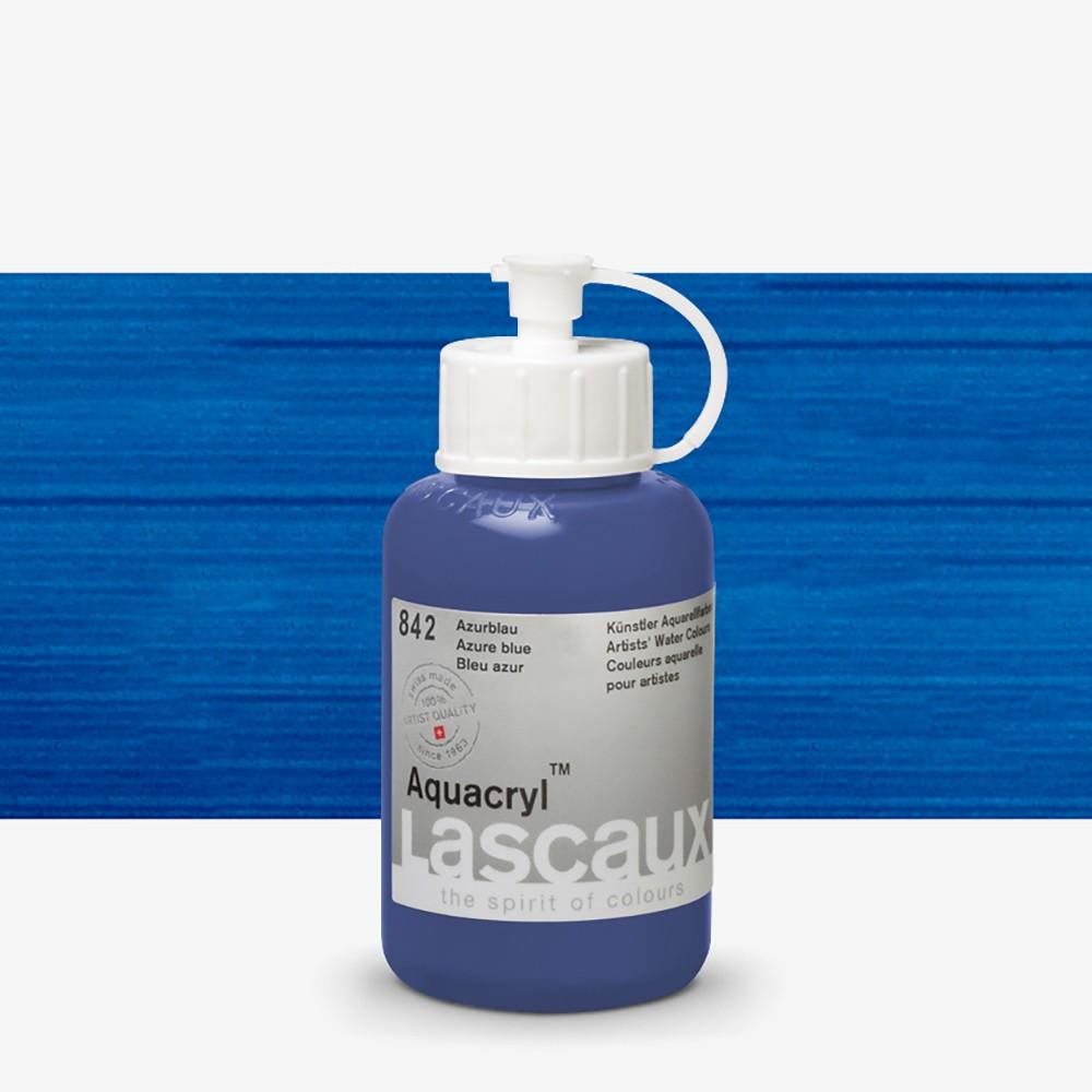 Lascaux : Aquacryl : Artists' Watercolour Paint : 85ml : Azure Blue
