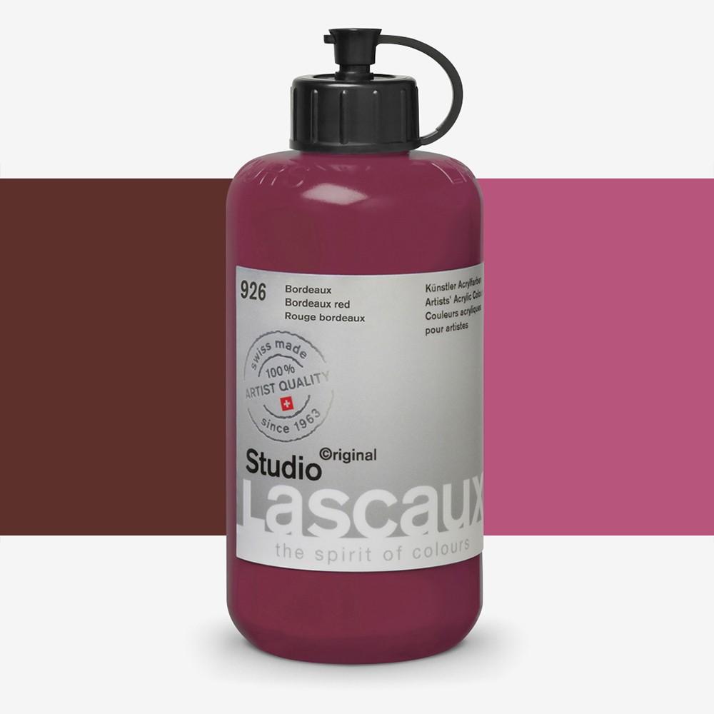 Lascaux : Studio : 250ml : Bordeaux Red