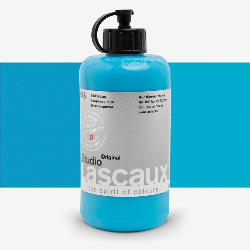Lascaux : Studio : 250ml : Turquoise Blue