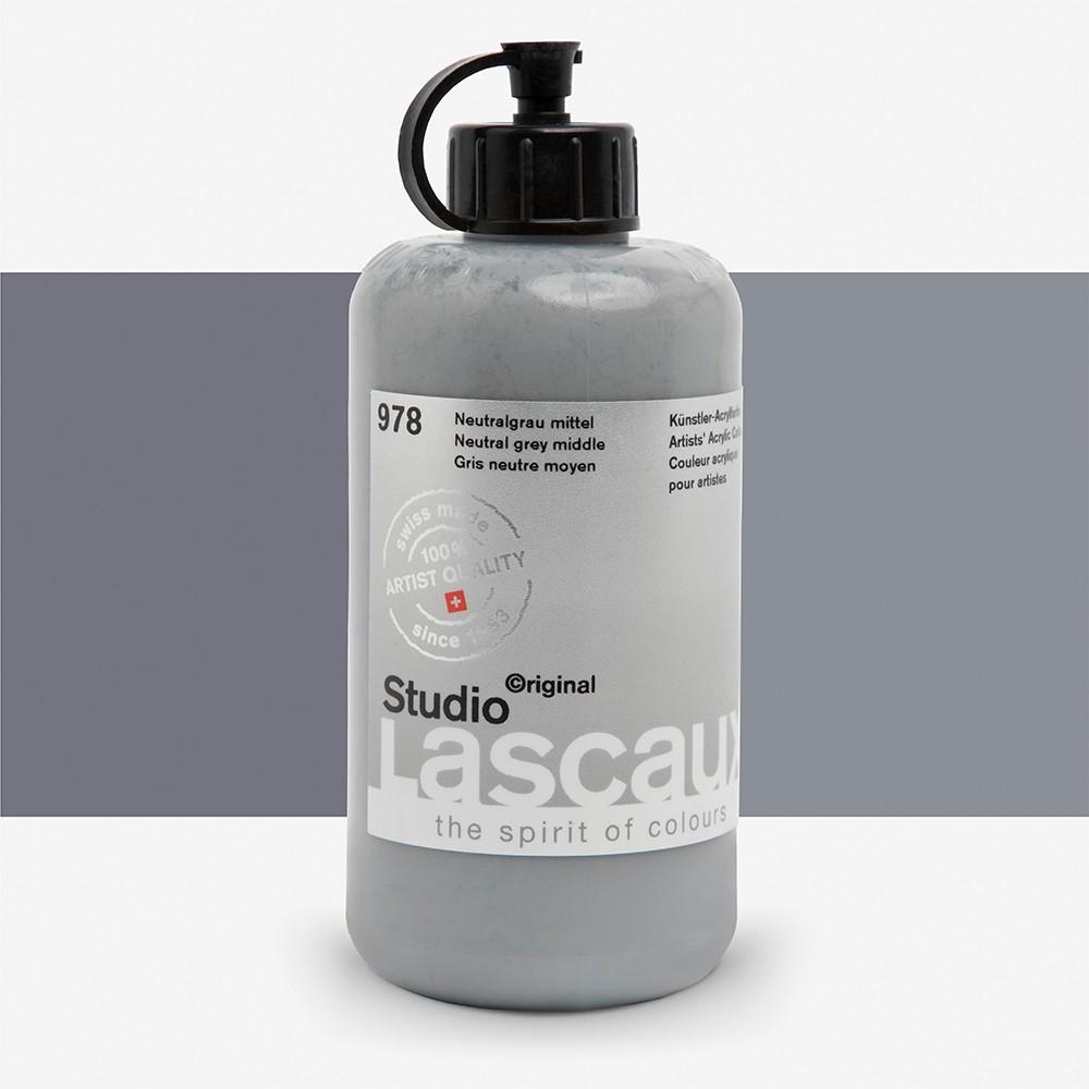 Lascaux : Studio : 250ml : Neutral Grey Middle