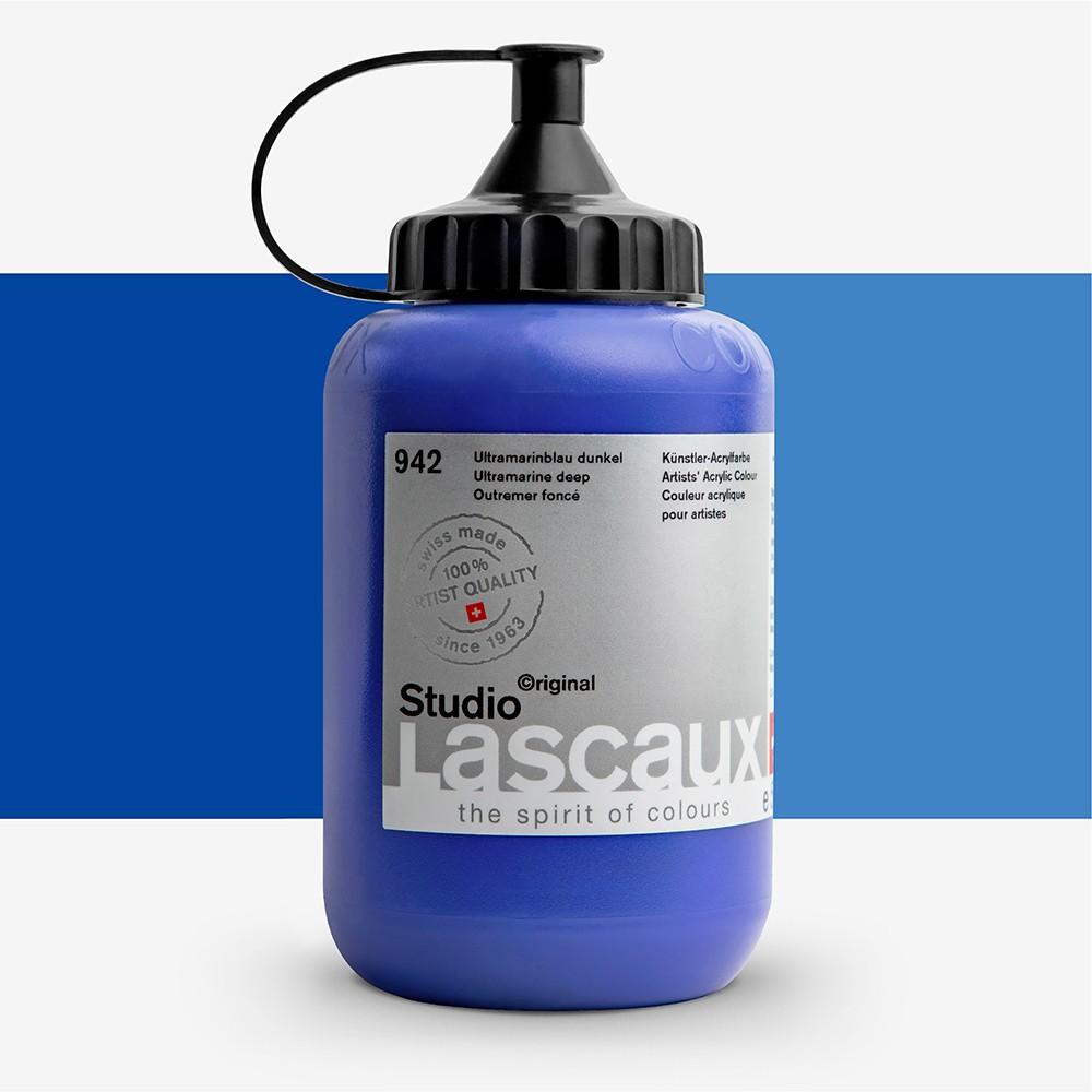 Lascaux : Studio : 500ml : Ultramarine Deep